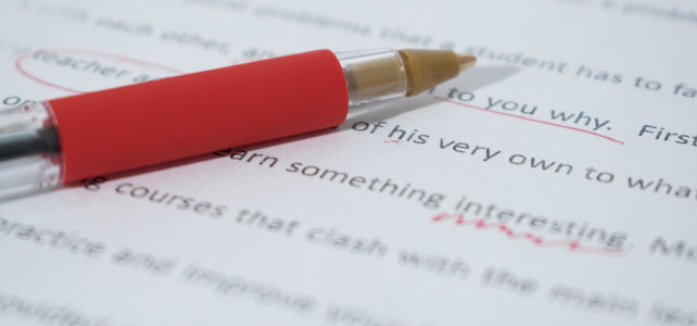 Services – Editing & Proofreading